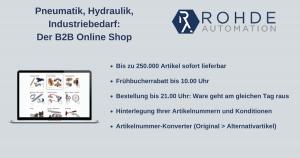 Pneumatik, Hydraulik, Industriebedarf Der B2B Online Shop